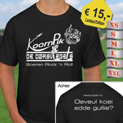 KPDV T-shirts voor iedereen!
