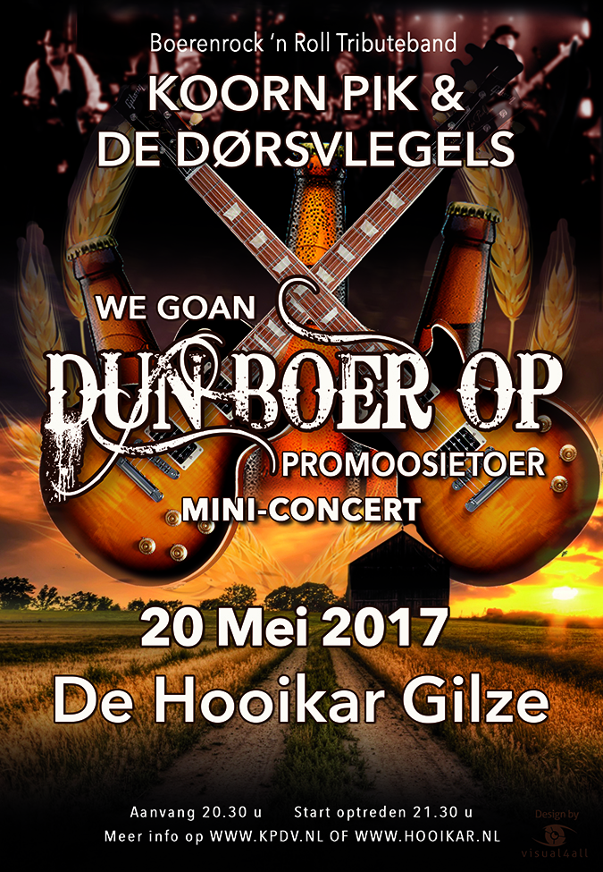 We Goan Dun Boer Op Promoosietoer